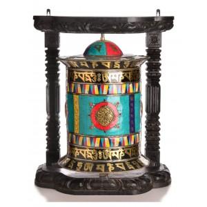 Tisch- und Wand-Gebetsmühle 68 cm
